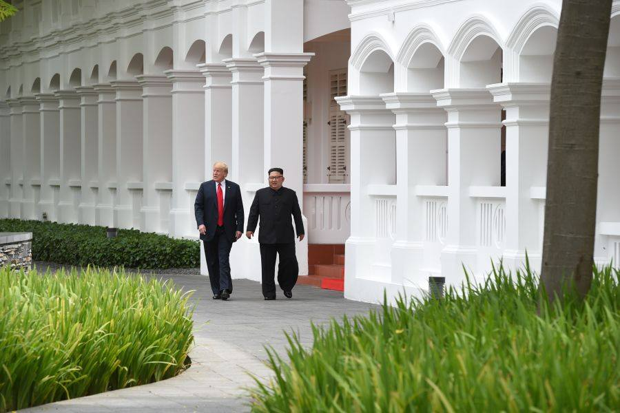 TRUC TIEP hoi nghi thuong dinh My-Trieu: Cuoc gap lich su giua ong Trump va ong Kim Jong-un hinh anh 5
