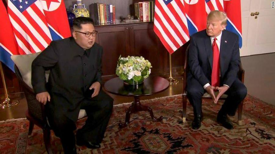 TRUC TIEP hoi nghi thuong dinh My-Trieu: Cuoc gap lich su giua ong Trump va ong Kim Jong-un hinh anh 14