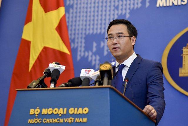 Bo Ngoai giao len tieng viec Facebook dua Hoang Sa, Truong Sa vao ban do Trung Quoc hinh anh 1
