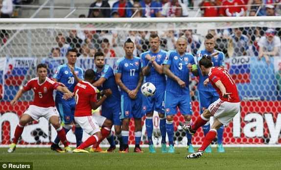 Truc tiep Euro 2016: Xu Wales vs Slovakia hinh anh 9