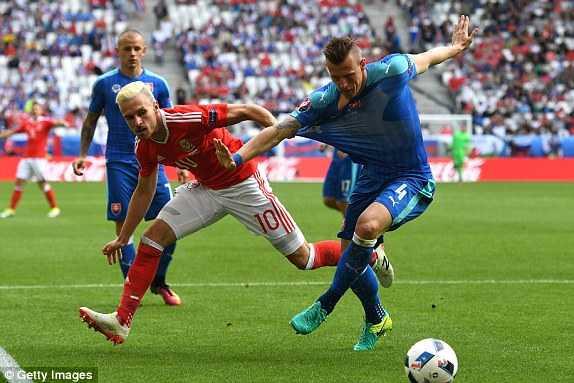 Truc tiep Euro 2016: Xu Wales vs Slovakia hinh anh 7