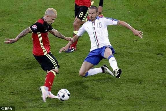 Truc tiep EURO 2016: Bi vs Italia hinh anh 4