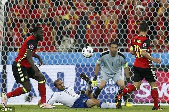 Truc tiep EURO 2016: Bi vs Italia hinh anh 1