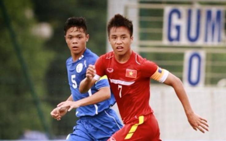 U16 Viet Nam bat ngo phai da vao gio an sang hinh anh 1