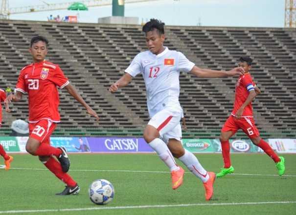 Chu nha xin doi gio da ban ket U16 Viet Nam vs U16 Campuchia hinh anh 1