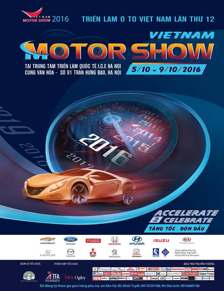 Vietnam Motor Show 2016 tro lai Ha Noi hinh anh 2