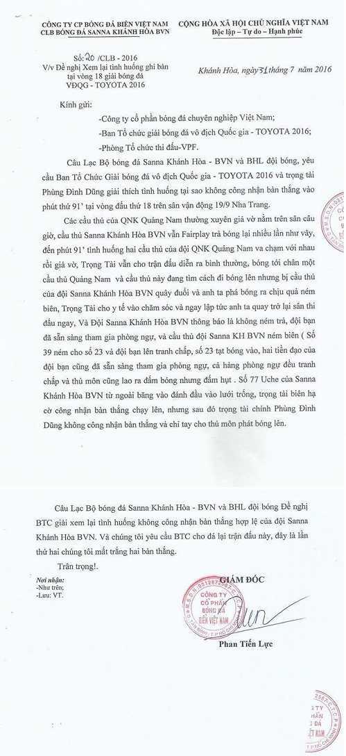 'Cuop' ban thang cua Sanna Khanh Hoa, trong tai Phung Dinh Dung mac loi nghiem trong hinh anh 2