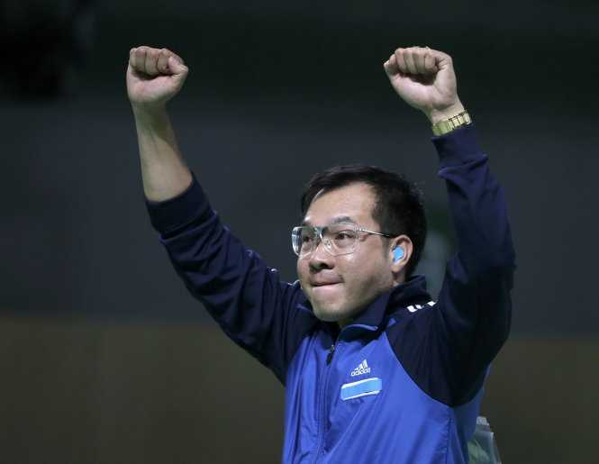 Truc tiep Olympic 2016: Hoang Xuan Vinh gianh huy chuong bac Olympic 2016 hinh anh 10