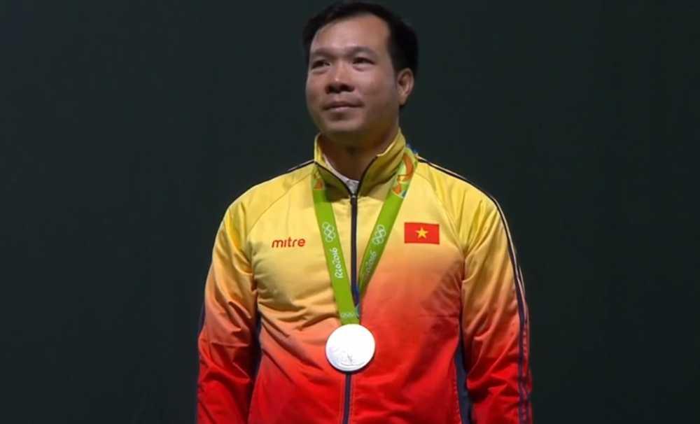 Truc tiep Olympic 2016: Hoang Xuan Vinh gianh huy chuong bac Olympic 2016 hinh anh 1