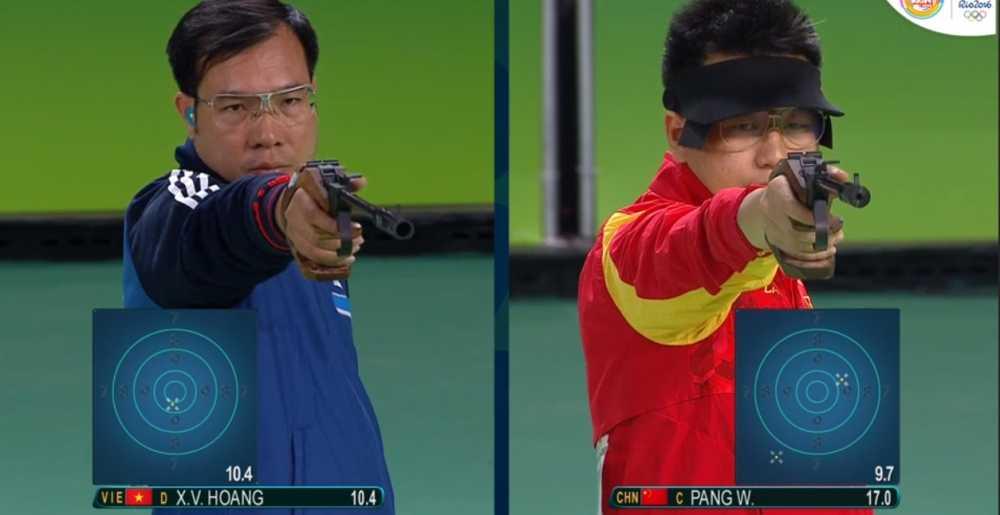 Truc tiep Olympic 2016: Hoang Xuan Vinh gianh huy chuong bac Olympic 2016 hinh anh 7