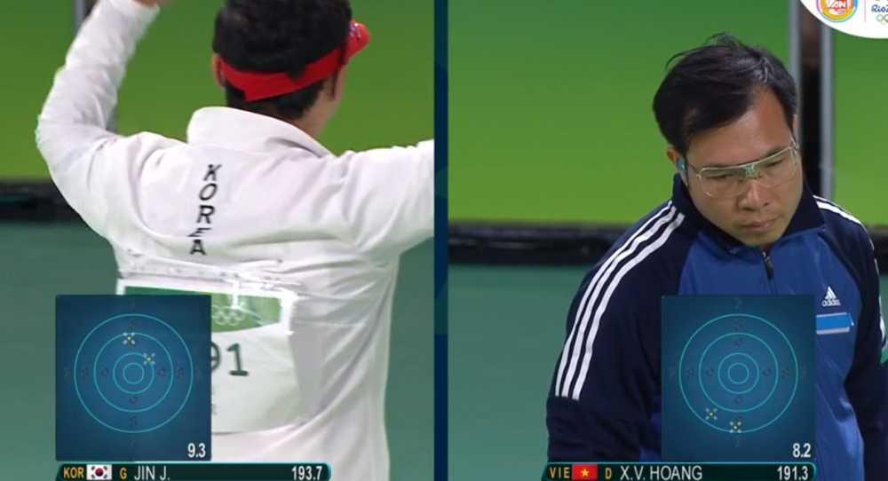 Truc tiep Olympic 2016: Hoang Xuan Vinh gianh huy chuong bac Olympic 2016 hinh anh 3
