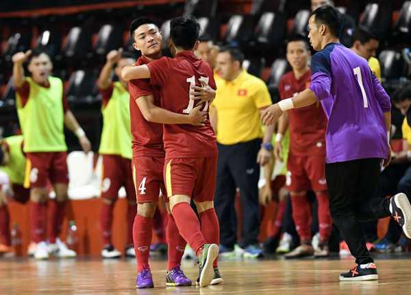 Tuyen Futsal Viet Nam thua day tiec nuoi truoc Argentina hinh anh 3