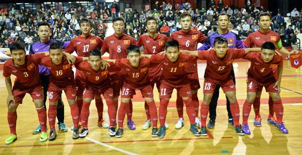 Tuyen Futsal Viet Nam thua day tiec nuoi truoc Argentina hinh anh 1