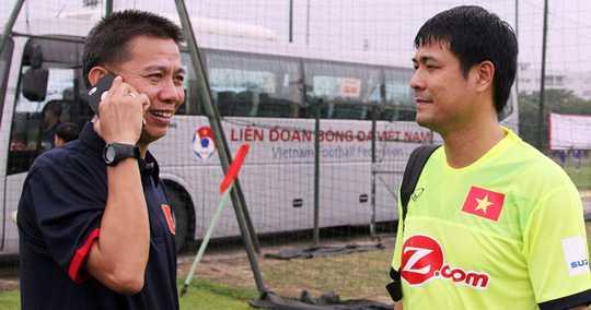 HLV Hoang Anh Tuan thay Huu Thang dan dat U23 Viet Nam hinh anh 1