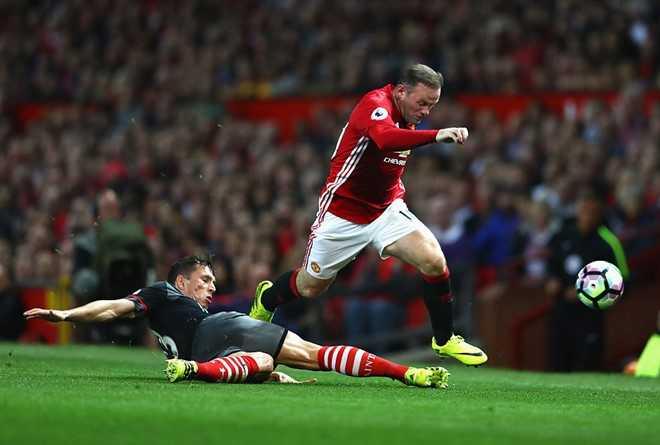 Derby Man Utd vs Man City la cua Rooney hinh anh 1