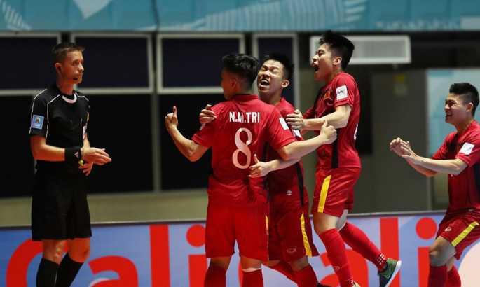 Minh Tri ghi 3 ban ha Guatemala: Do la no luc ban than, khong phai may man hinh anh 1