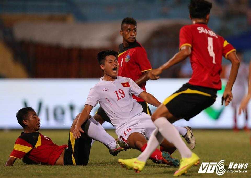 U19 Viet Nam trut bo ap luc, thang dam U19 Dong Timor hinh anh 1