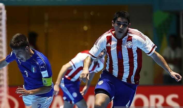 Tuyen futsal Paraguay khong dam danh gia thap Viet Nam hinh anh 1
