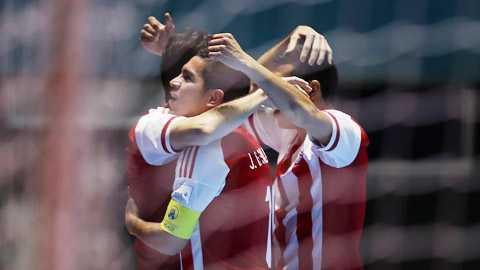 Tuyen Futsal Viet Nam dung 'sieu sat thu' Nam My hinh anh 1