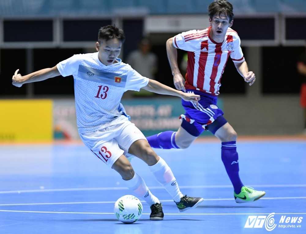 Truong doan Futsal Viet Nam: Thua doi manh co gi phai tu ti hinh anh 1