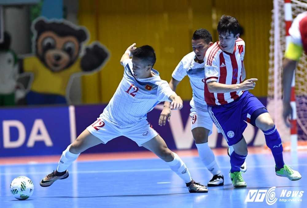 Truc tiep Futsal World Cup: Viet Nam vs Paraguay hinh anh 1