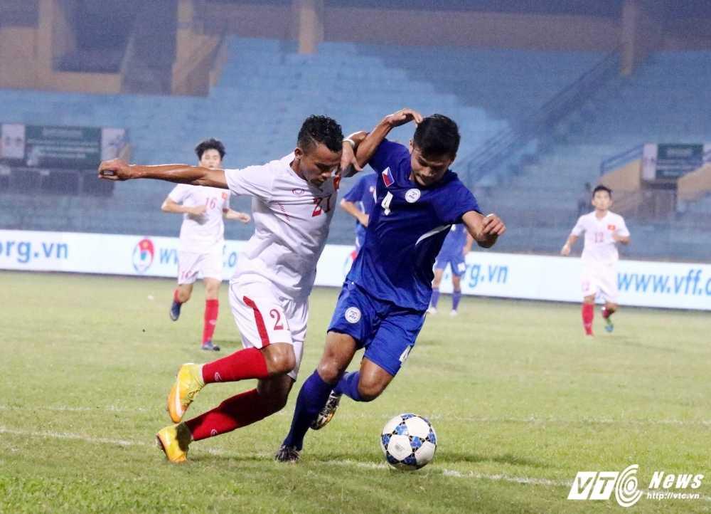 Hang thu te hai, U19 Viet Nam toat mo hoi thang U19 Philippines hinh anh 1