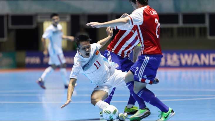 Truc tiep Futsal World Cup: Viet Nam vs Paraguay hinh anh 4
