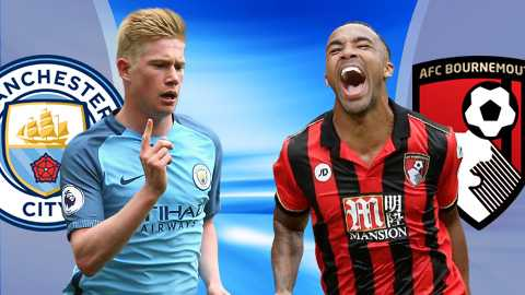 Link sopcast xem truc tiep Man City vs Bournemouth hinh anh 1