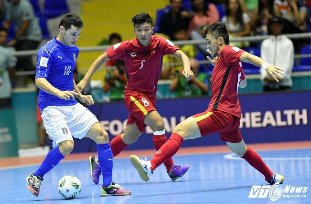 Cong dong mang hanh phuc, chia vui voi ky tich World Cup cua Futsal Viet Nam hinh anh 1