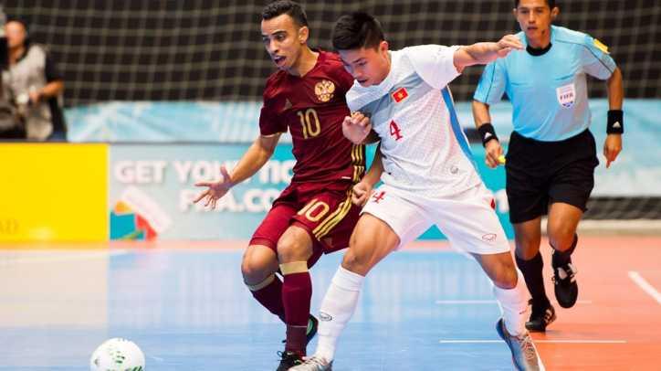 Truc tiep Futsal World Cup: Viet Nam vs Nga hinh anh 4