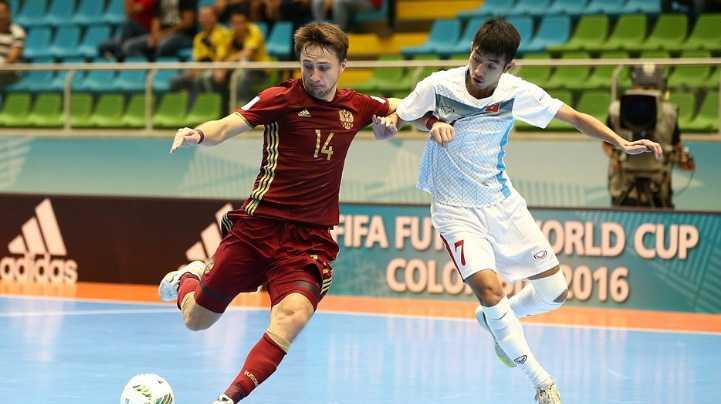 Truc tiep Futsal World Cup: Viet Nam vs Nga hinh anh 2