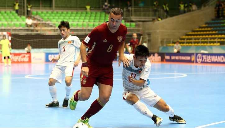 Truc tiep Futsal World Cup: Viet Nam vs Nga hinh anh 3