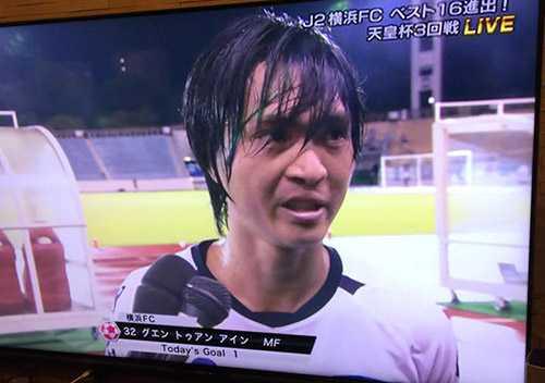 Tuan Anh nghen ngao: Vui qua, toi ghi ban giup Yokohama thang tran hinh anh 1