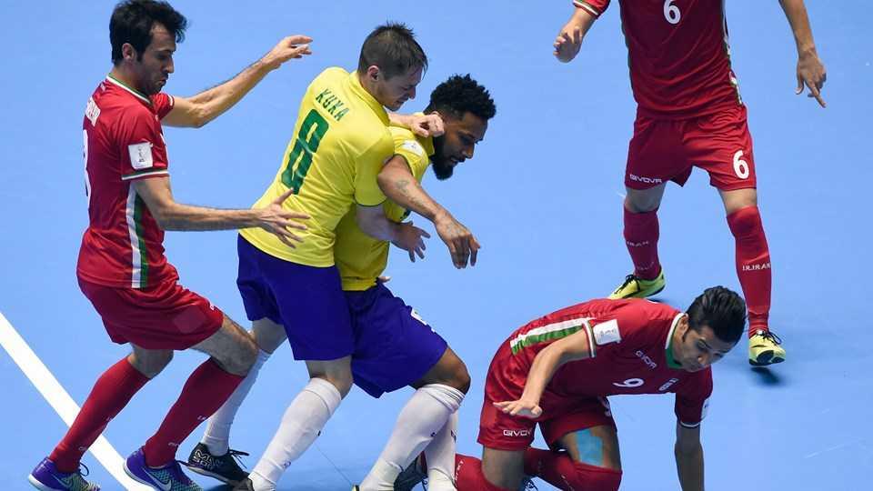 Futsal World Cup: Iran thang soc Brazil hinh anh 1