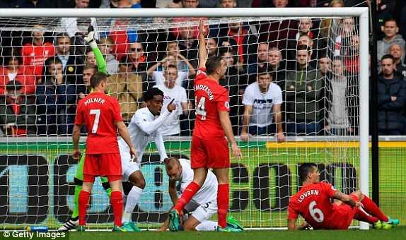 Truc tiep Swansea City vs Liverpool hinh anh 6
