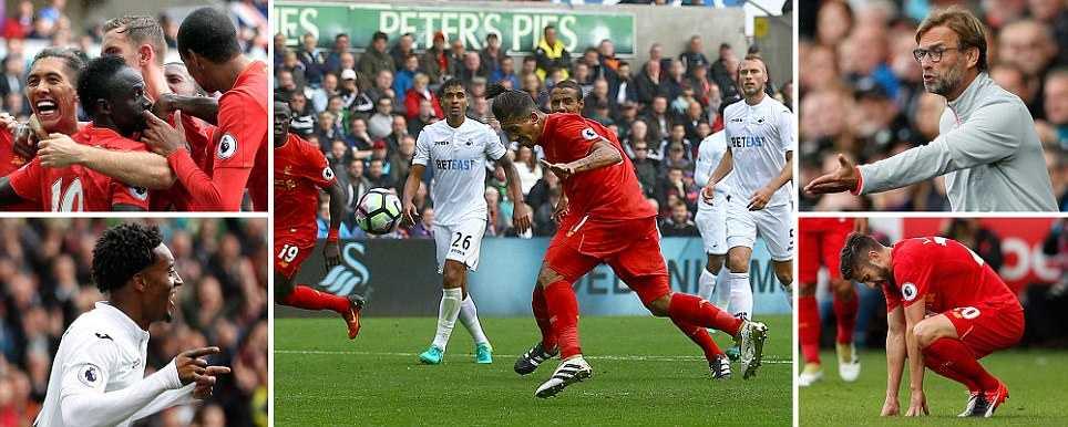Truc tiep Swansea City vs Liverpool hinh anh 1