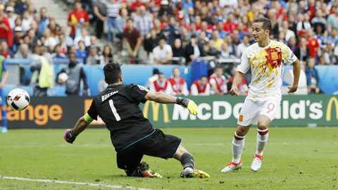 1h45 ngay 7/10 truc tiep Italia vs Tay Ban Nha: Man bao thu cua Bo tot hinh anh 1