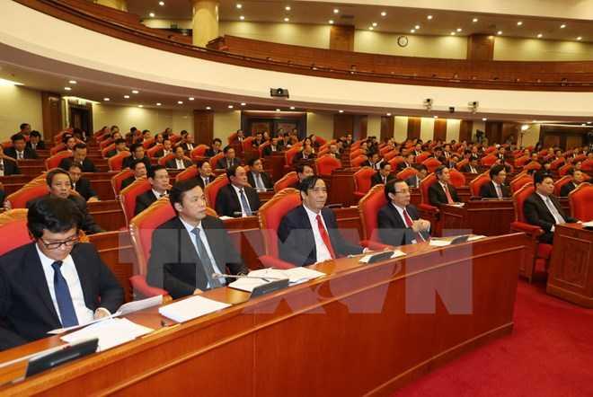 Hoi nghi Ban Chap hanh TW Dang thao luan ve tien trinh hoi nhap kinh te quoc te hinh anh 1
