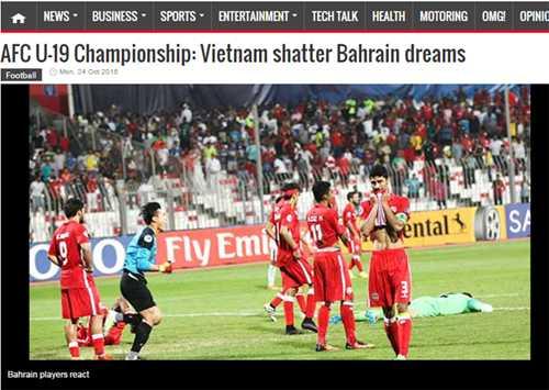 Truyen thong Bahrain phuc hang thu U19 Viet Nam hinh anh 2