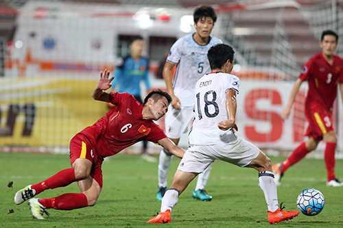 'U19 Viet Nam qua met moi, ca the chat lan tinh than' hinh anh 1