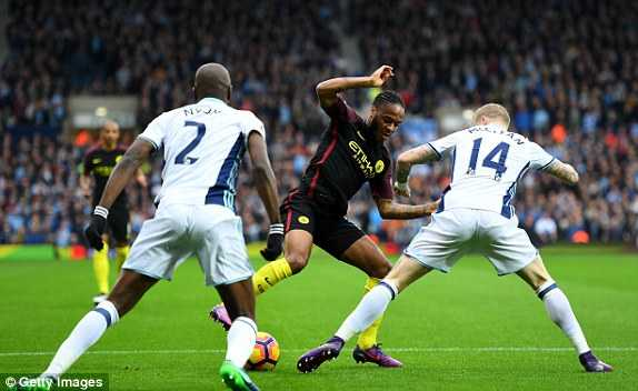 Truc tiep West Brom vs Manchester City hinh anh 1