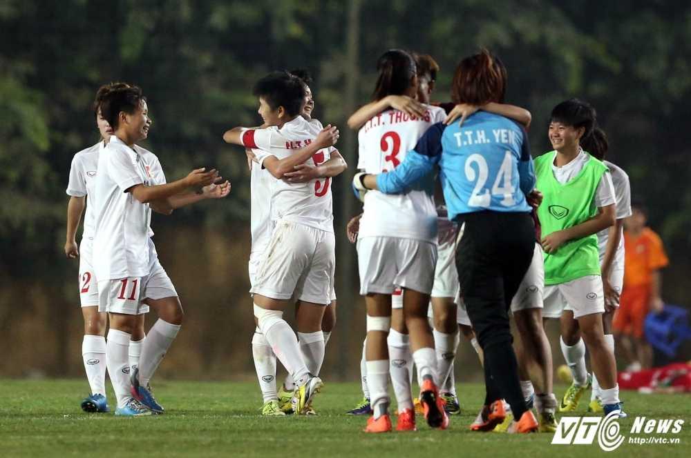 Thang U19 Iran, U19 nu Viet Nam gianh ve du vong chung ket chau A hinh anh 2