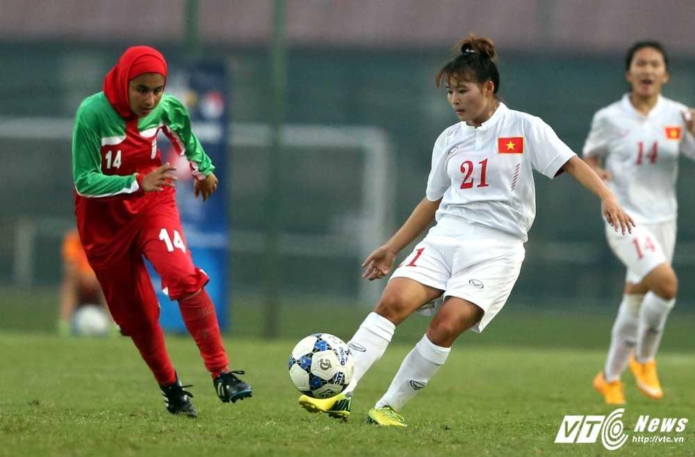Thang U19 Iran, U19 nu Viet Nam gianh ve du vong chung ket chau A hinh anh 1