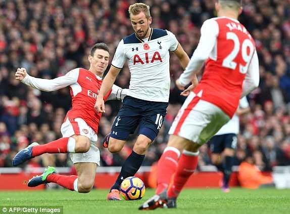 Truc tiep Arsenal vs Tottenham hinh anh 1