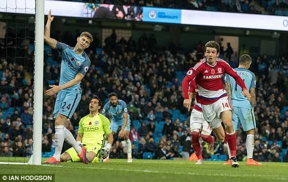 Truc tiep Ngoai hang Anh: Man City vs Middlesbrough hinh anh 1