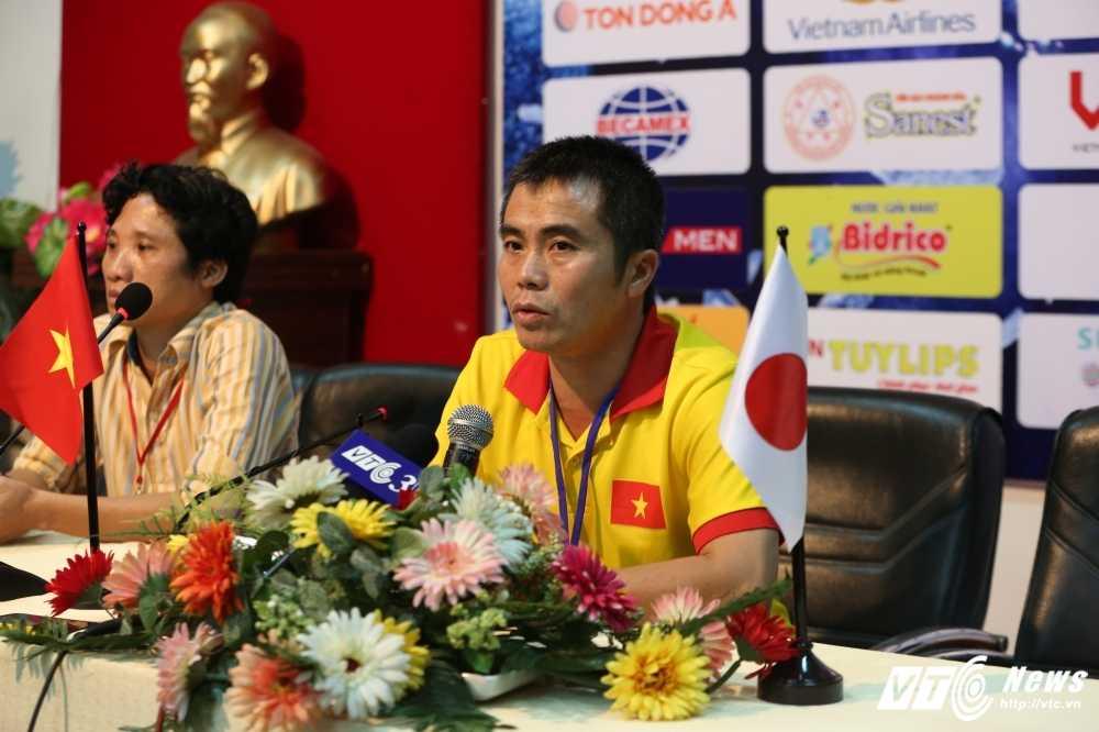 HLV Pham Minh Duc: U21 Viet Nam nhut nhat qua hinh anh 1