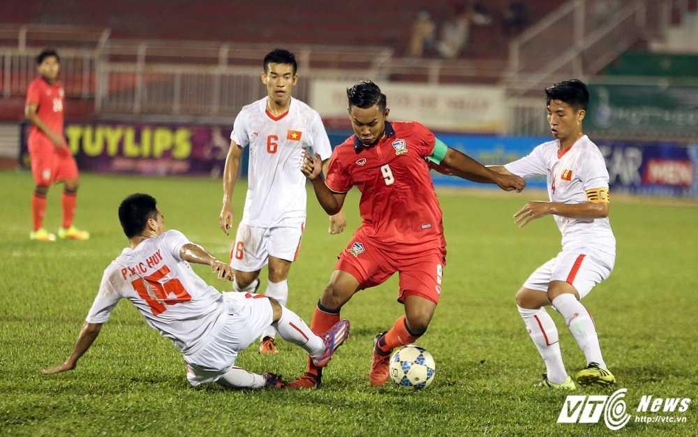 Thua nguoc U21 Thai Lan, U21 Viet Nam gap U21 HAGL trong tran tranh hang ba hinh anh 1