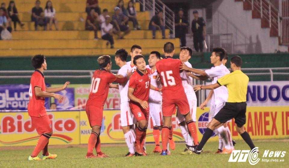 Thua nguoc U21 Thai Lan, U21 Viet Nam gap U21 HAGL trong tran tranh hang ba hinh anh 5
