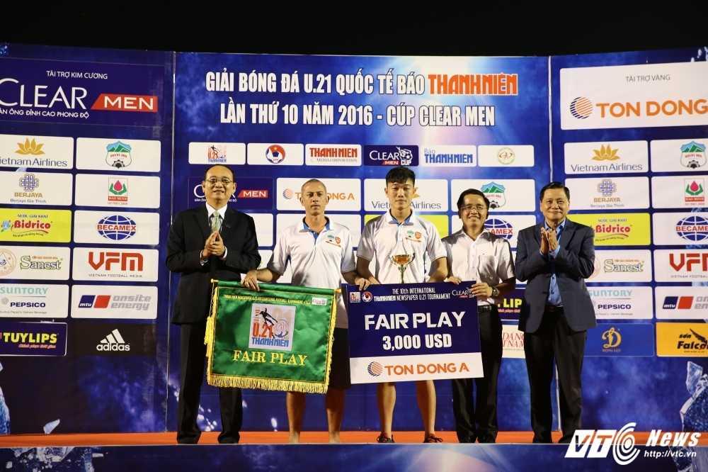Thang U21 Thai Lan, U21 Yokohama vo dich U21 Quoc te 2016 hinh anh 5