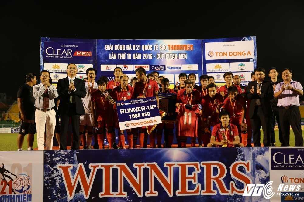 Thang U21 Thai Lan, U21 Yokohama vo dich U21 Quoc te 2016 hinh anh 2